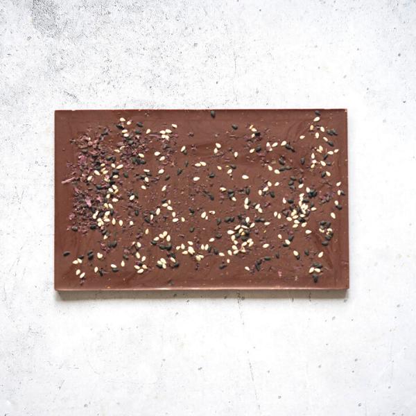 Sesame & Dulse Seaweed Milk Chocolate